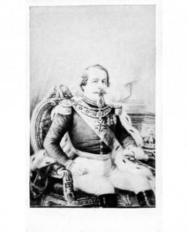Portrait de Napoléon III assis