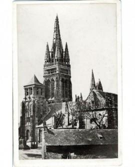 Vue de Bretagne d'une église