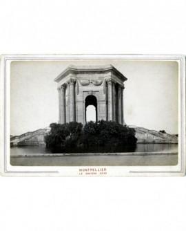 Vue du château d'eau du Peyrou à Montpellier