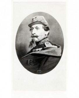 Napoléon III en uniforme de général, vareuse et décorations