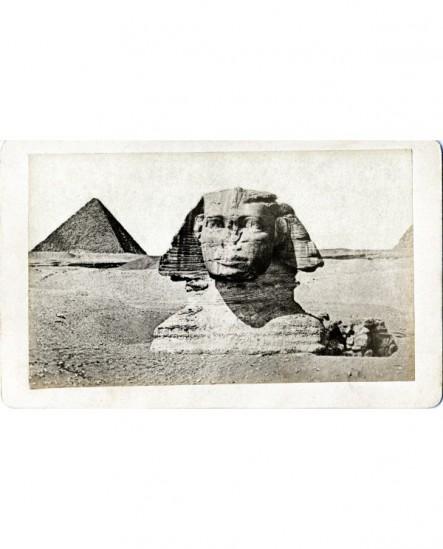 Vue du Sphinx de Giseh ( Egypte)