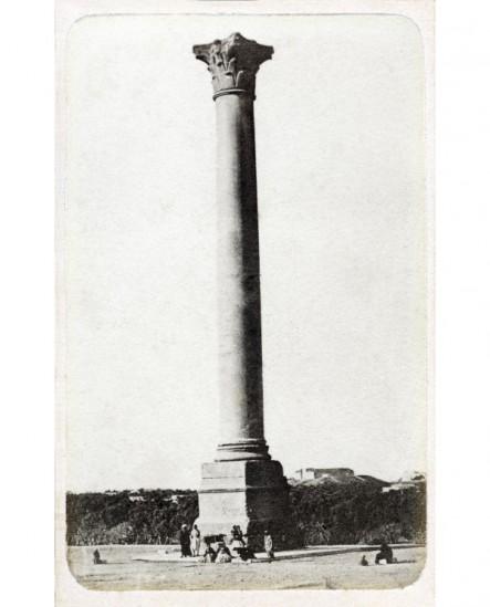 Vue de la colonne Pompée à Alexandrie ( Egypte)