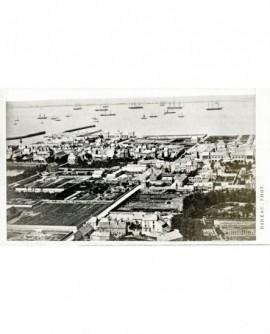 Vue générale de Cherbourg, le port et la ville