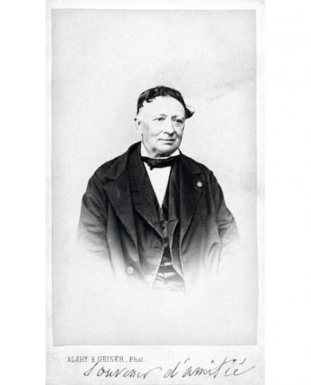 Homme avec rosette à la boutonnière (baron de Violar)
