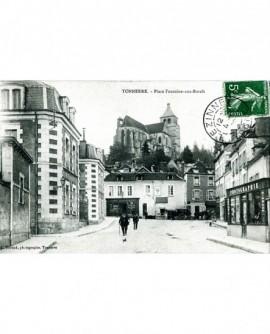 Magasin du photographe L. Durand à Tonnerre. studio