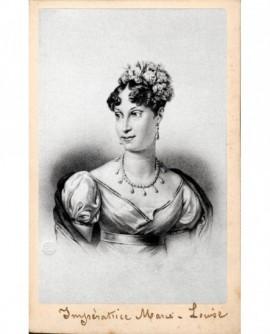 Portrait lithographiées de l'impératrice Marie-Louise