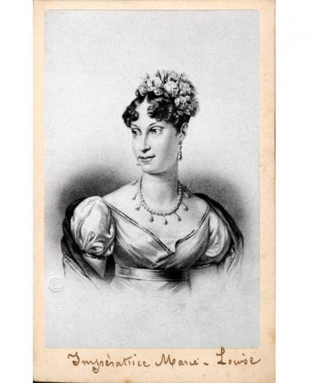 Portrait Lithographiees De Limperatrice Marie Louise