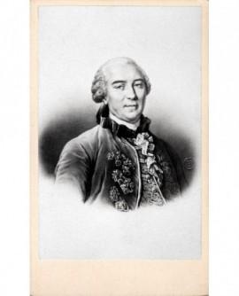 Portrait lithographié de Georges-Louis Leclerc, comte de Buffon