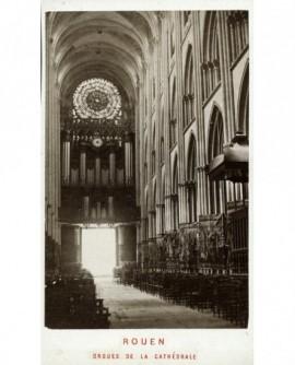 Nef et orgues de la cathédrale de Rouen