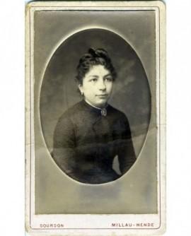 Portrait d'une femme cévennole (Marguerite Méjan)