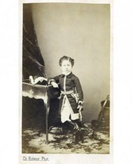 Le Prince impérial en uniforme militaire