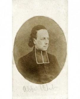 Portrait d'un ecclésiastique en rabat (l'abbé Petit)