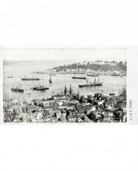 Vue de la Pointe du Sérail à Constantinople