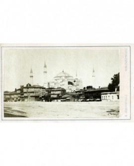 Vue de la Mosquée de Sainte Sophie à Constantinople