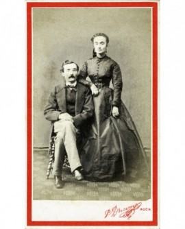 Couple (homme moustachu) (M. & Mme Georges Campredon)