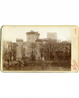 Vue extérieure du château de Charly