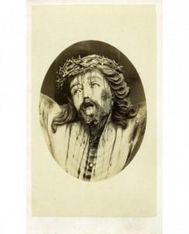Portrait d'un Christ expirant
