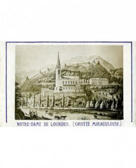 Basilique et grotte de Lourdes