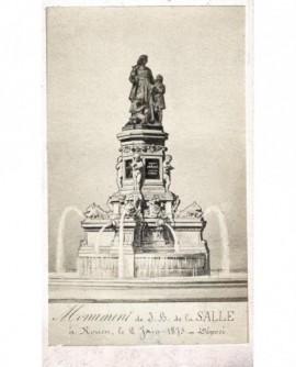 Monument à JB de la Salle à Rouen-St Yon (1875)