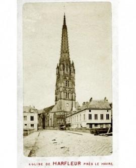 Vue extérieure de l'église St Martin d'Harfleur