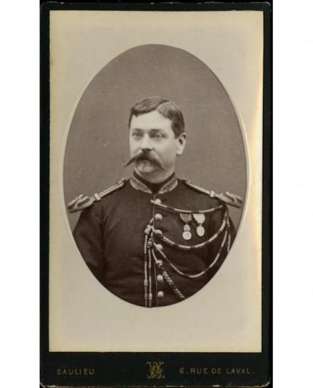 (militaire) Gendarme musicien ancien de la campagne d'italie 1859
