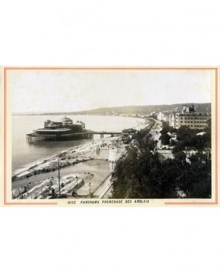 Vue de la promenade des Anglais à Nice
