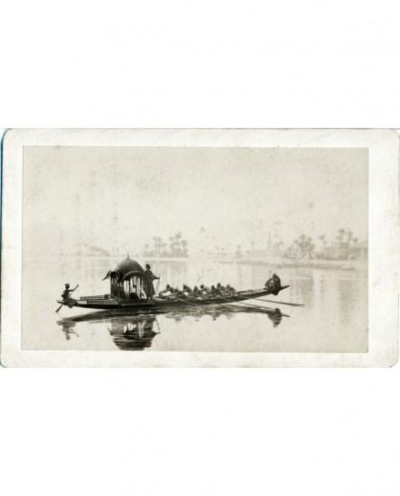 Peinture de J. L. Gérome: Promenade de harem en gondole