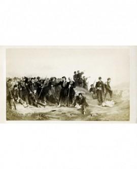 """Peinture de Protais : """"Après le combat"""