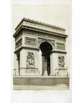 Vue de l'Arc de Triomphe (de l'Etoile)
