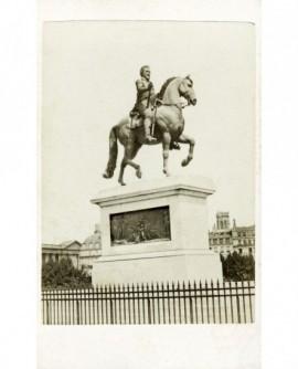 Vue de la Statue d' Henri IV,au Pont Neuf