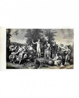 """Peinture de Raphaël: """"le Parnasse"""""""