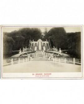 Vue de la grande cascade du palais de Saint-Cloud