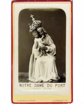 Statue de la Vierge à l'enfant: Notre-Dame du port