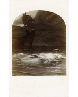 Peinture de Delaroche: La Martyre