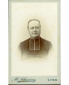 Portrait d\'ecclésiastique en rabat
