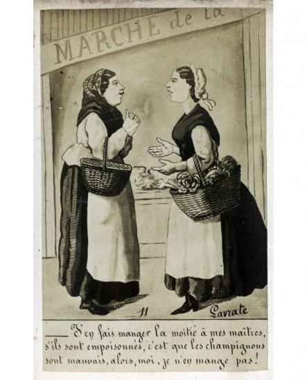 Caricature signée Lavrate charge contre les cuisinières