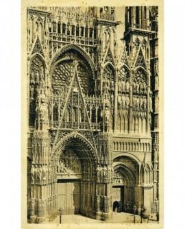 Carte publicitaire du photographe J. NOZAIS: cathédrale de Nantes