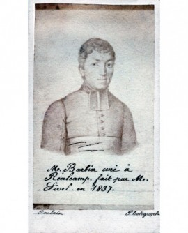 Portrait d'un ecclésiastique en rabat ( M. Barbier)