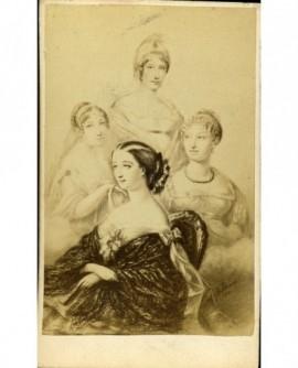 L\'impératrice Eugénie et ses dames (dessin)