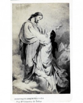 Peinture: le Christ et Marie-Madeleine