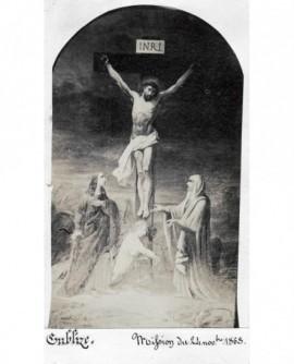 Peinture de la Crucifixion