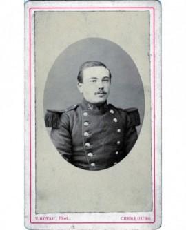 Portrait d\'un militaire marin (Achille Deladeriére de Lannoy)