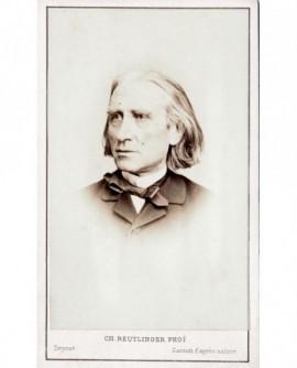 Portrait de Franz Liszt