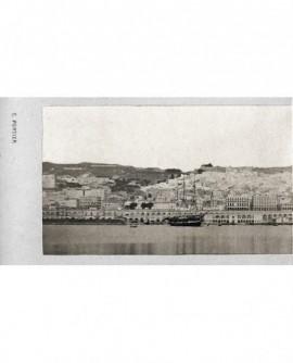Alger. Vue général du port (bateau) N°1