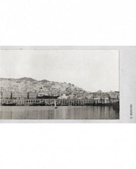 Alger. Vue général du port (bateau) N°2