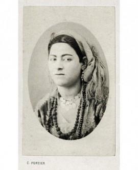 Portrait d'une femme. Mauresque d'Alger