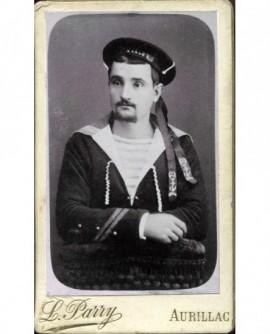 Portrait d\'un marin. militaire