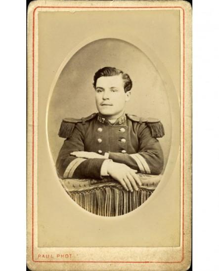 Militaire (caporal-chef) du 87è de ligne. A. Lorril (?)