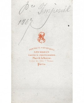 Portrait en médaillon du prince impérial (Napoléon)