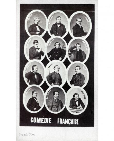 Mosaïque membres de la Comédie Française